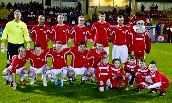 Team photo of Sligo Rovers. Courtesy of Sligo Rovers