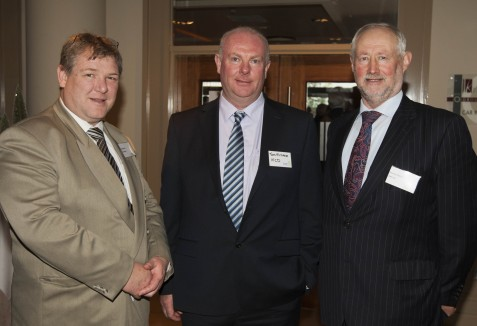 Billy Goodburn - ICOS Skillnet, Tom Millane - IFCD and Seumas O'Brien - IFAC
